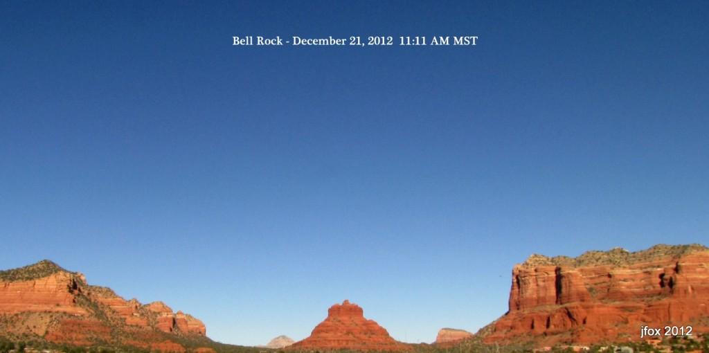 Bell Rock December 21, 2012 11:11am