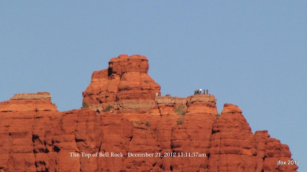 Top of Bell Rock December 21, 2012