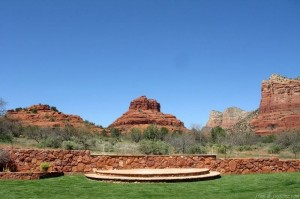 View of Bell Rock from Quail Ridge Resort